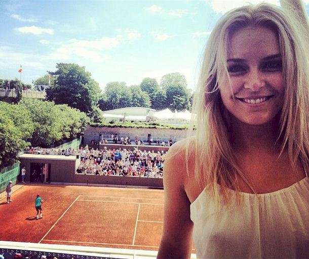 Lindsey Vonn See Through at the French Open
