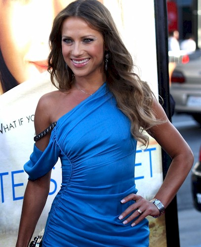 Dancing with the Stars babe Edyta Sliwinska made an appearance at the ...