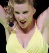 Heather Morris upskirt