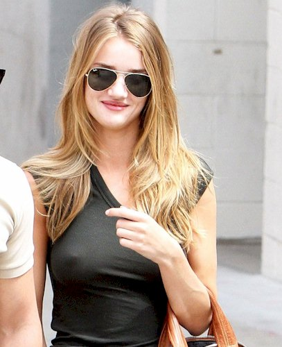 Rosie Huntington-Whiteley see through