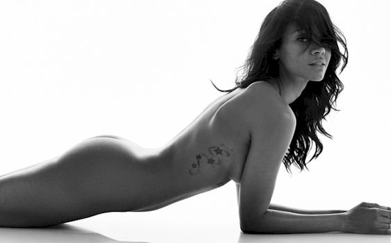 Well, Zoe saldana nude magazine