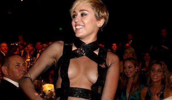 Miley Cyrus The Nip Slip