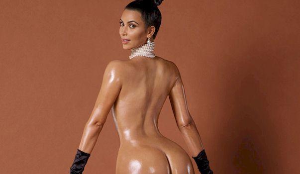 Kim Kardashian's Bare Ass