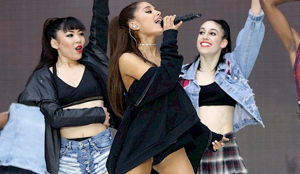 Attentively would Ariana grande nip slip have removed