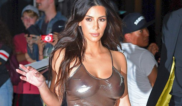 kim kardashian titts