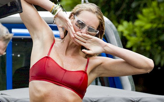 Elle Macpherson Exposes Bare Breasts In Ridiculously Racy Throwback Snaps