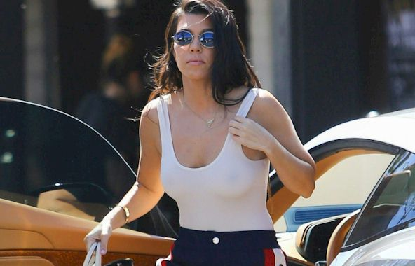 Upskirt of kardashian free kourtney pictures
