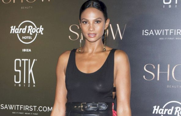alesha dixon see through to pasties! – the nip slip