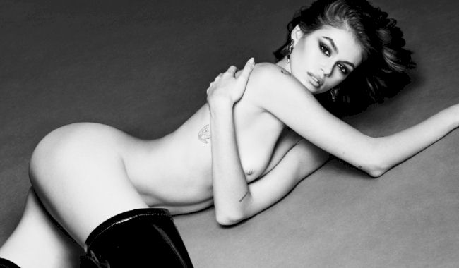 Kaia Gerber Nude Uncensored Photos