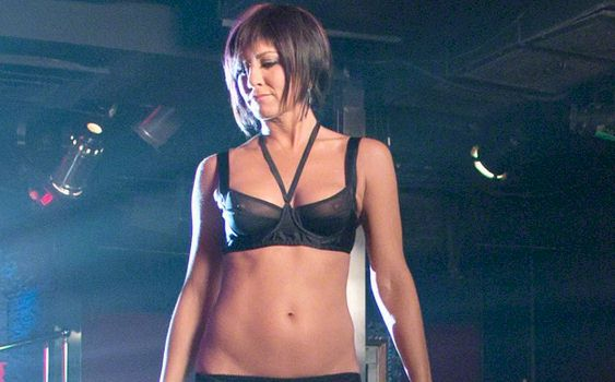 Jennifer Aniston in See Through Bra from We're The Millers ...