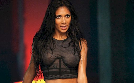 Nicole Scherzinger Slightly See Through In New Music Video
