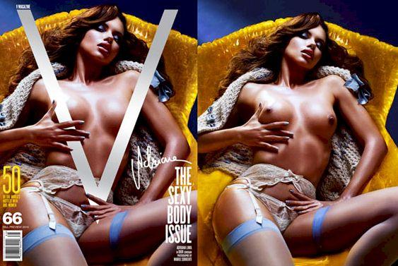 Supermodels Topless for V Magazine