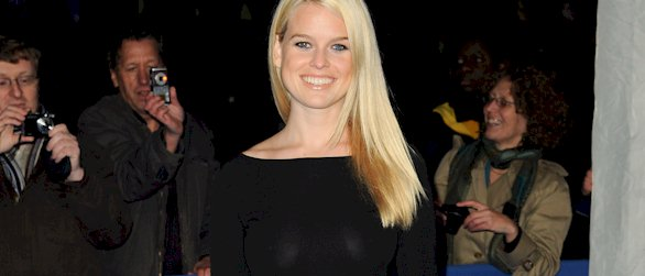 Alice Eve see through