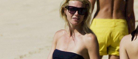 Gwyneth Paltrow bikini candids