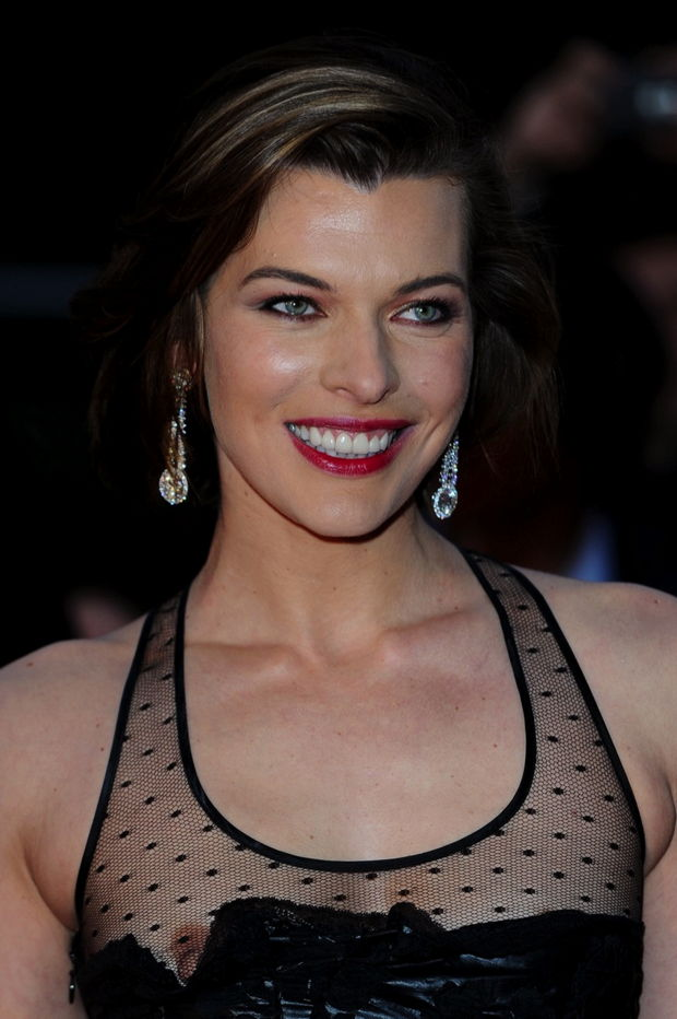 milla jovovich slipped a nip at royal albert hall in london the other ...