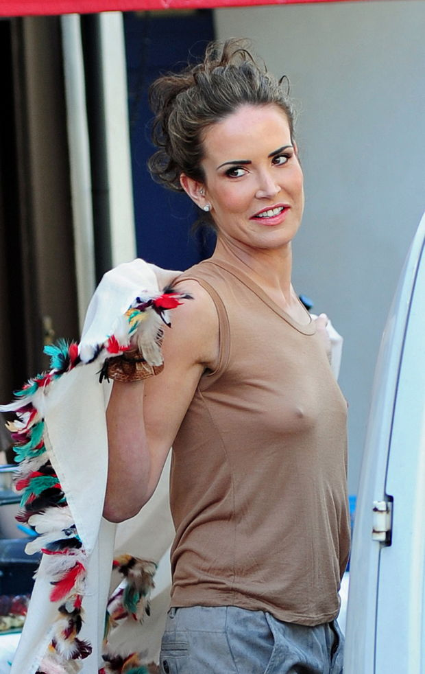 Lila mccann upskirt / nipple slips