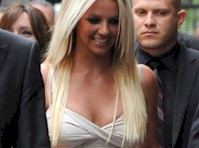 Britney Spears in a Tight Dress