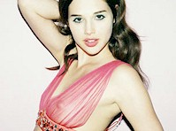 Anais Pouliot in a Sheer Bra