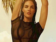 Hilary Rhoda in Vogue Spain