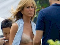 Jennifer Aniston in a Bra