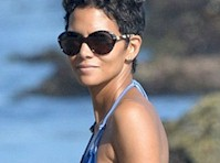 Halle Berry in a Bikini Top