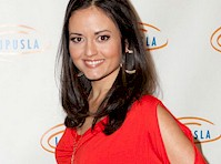 Danica McKellar in a Red Top