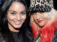 Christina Aguilera Wanted Threesome with Vanessa Hudgens