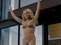 Hayden Panettiere in a Bikini on Nashville