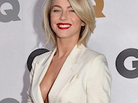 Julianne Hough Cleavage for the Men of the Year