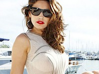 Kelly Brook See Through on a Boat