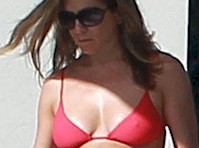 Jennifer Aniston in a Bikini Top