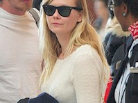 Kirsten Dunst Pokies at the Airport