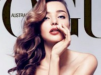Miranda Kerr in Vogue Magazine