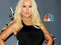 Christina Aguilera is Busty in Black