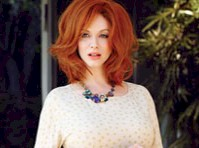 Christina Hendricks in Flare Magazine