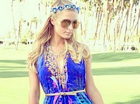 Paris Hilton is a Hippie at Coachella