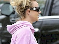 Britney Spears in Yoga Pants