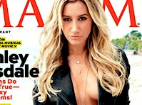 Ashley Tisdale in Maxim Magazine