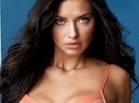 Adriana Lima Models Underwear