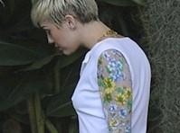 Miley Cyrus Sideboob Pokies