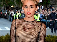 Miley Cyrus at the 2013 MET Gala