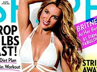 Britney Spears in Shape Magazine