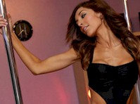 Farrah Abraham Working the Pole