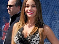 Sofia Vergara Cleavage at the 2013 Upfronts