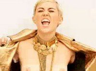 Miley Cyrus Topless Outtake?