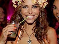 Maria Menounos in a Bikini Top