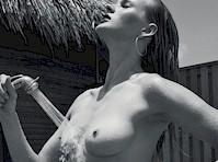 Anne Vyalitsina Topless in Elle