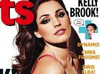Kelly Brook in Nuts Magazine