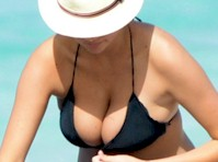 Kate Upton and Cameron Diaz in Bikinis