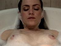 Anabella Casanova Topless in Maskerade